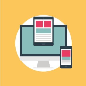 Erstellung einer Landingpage für Desktop und Mobile